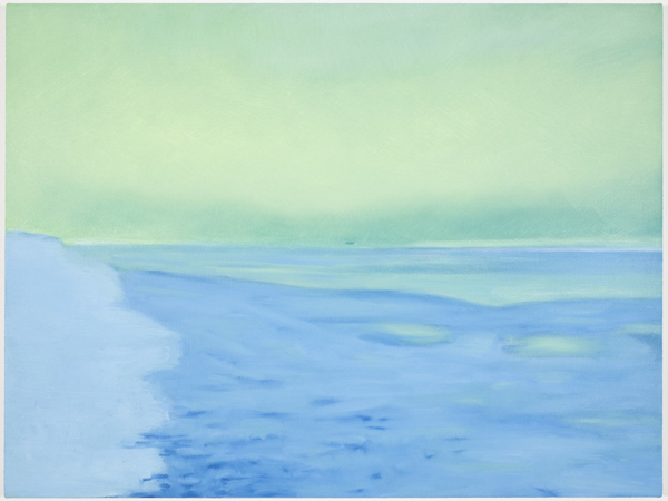 Untitled (lens flare 8005i), 2010 oil on canvas 21 x 28 inches