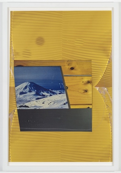 Cinder Cone, 2014 archival inkjet prints and thread 18 x 12 1/2 inches (21 x 14 1/2 inches framed)