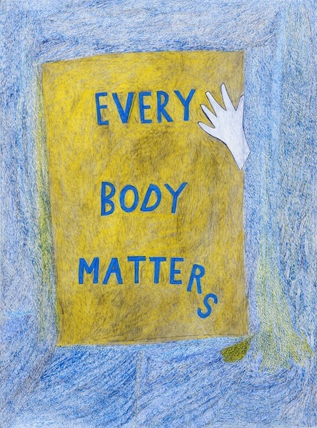 Anthony Campuzano Everybody Matters (3 of 3), 2012