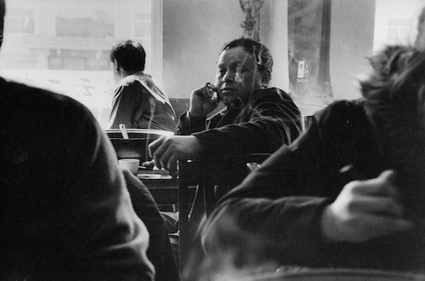 Man on a Cell Phone, Restaurant, 2006 gelatin silver print 8 x 10 inches