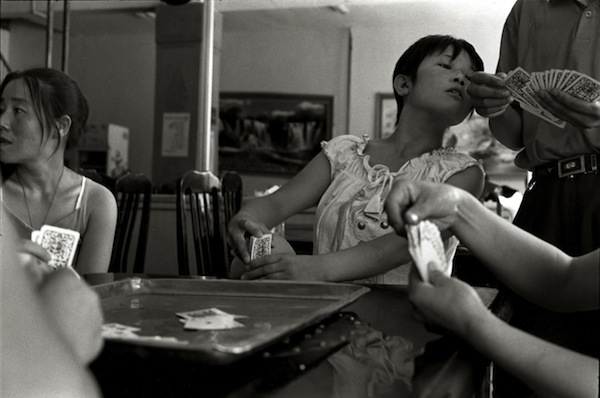 Card Game, Shanxi, 2007 gelatin silver print 8 x 10 inches