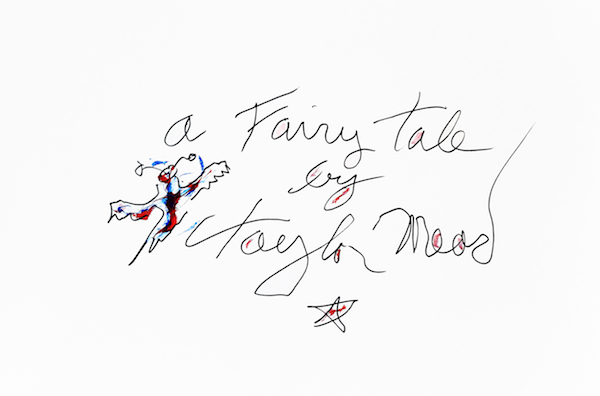 Fairy Tale Poem, sheet 1 (A Fairy Tale), 2012 ink and acrylic on paper 28 1/2 x 20 5/8 inches framed