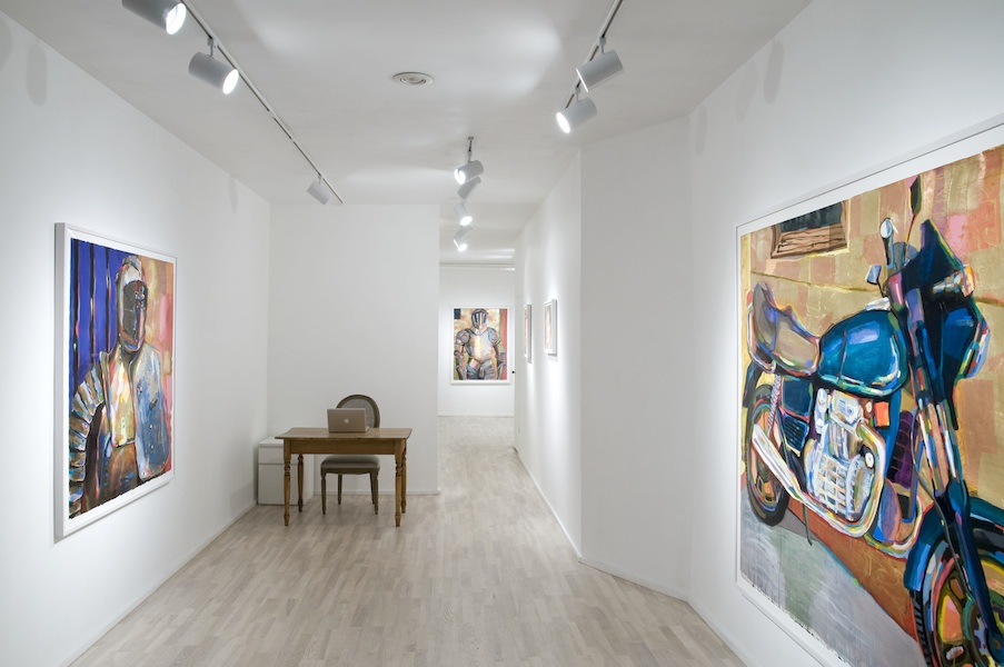 installation view: Battle Armor, 2013