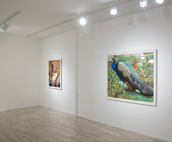installation view: Battle Armor (L.B.) 2012