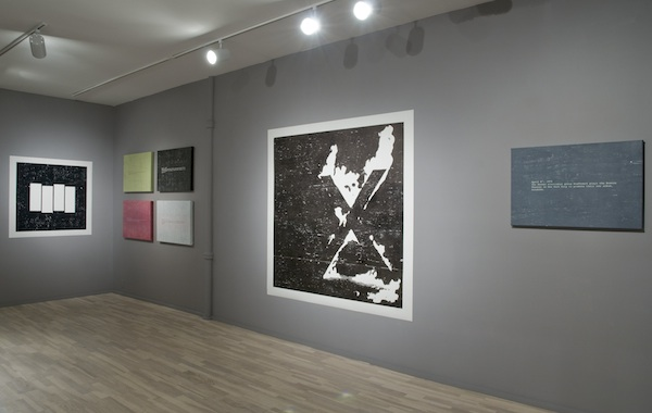 installation view: Suburbia Hamburg 1983