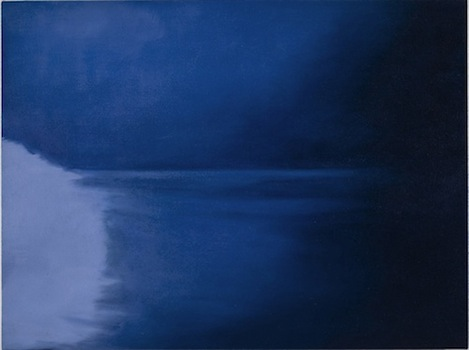 Jordan Kantor Untitled (lens flare 8053i), 2011 oil on canvas 21 x 28 inches