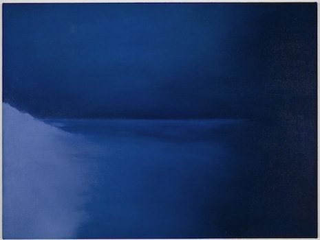 Jordan Kantor Untitled (lens flare 8053i, version 2), 2011 oil on canvas 21 x 28 inches
