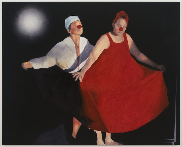 Untitled (clown dance), 2012-2013 oil on canvas 58 x 72 inches