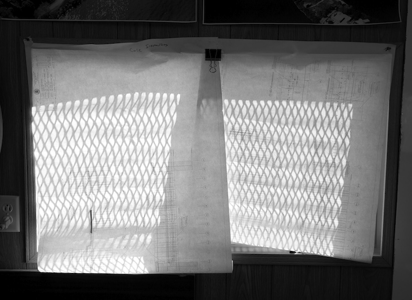Barney Kulok Untitled (Blinds) 2011 gelatin silver print 20 x 27 1/2 inches 21 x 28 1/2 inches, framed