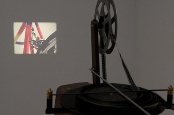 Connor Linskey Carousel, 2011 16mm film dimensions variable installation view