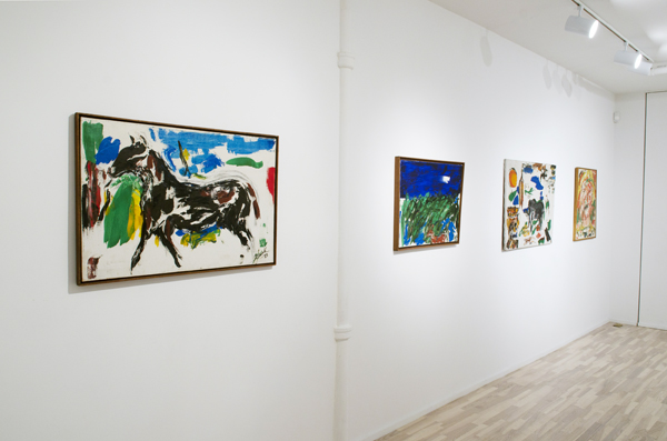 Taylor Mead installation view
