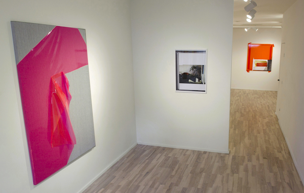 Installation view with Jude Broughan's Front Study (2012)